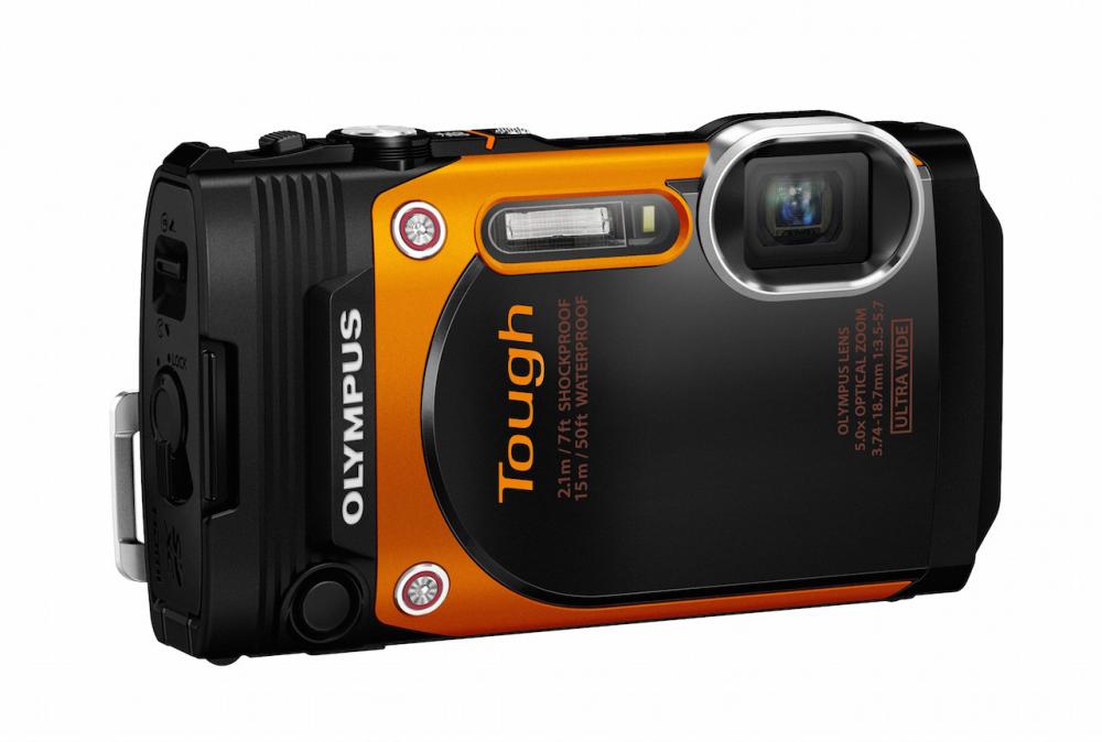 Olympus Tough TG-860: η απάντηση της Olympus στην GoPro
