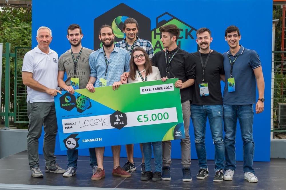 Σε εφαρμογή Eye Tracking το πρώτο βραβείο στον διαγωνισμό Cosmote Hackathon