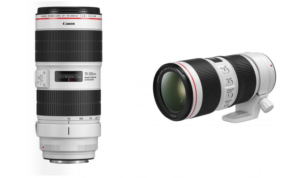 Canon: αναβάθμιση των φωτογραφικών φακών L 70-200mm