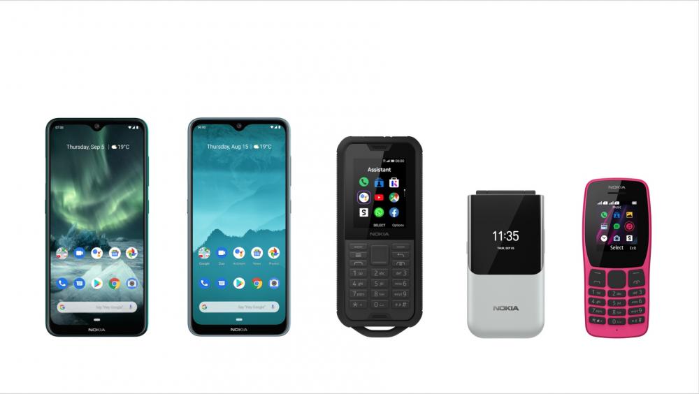 Πέντε νέα τηλέφωνα Nokia παρουσίασε η HMD Global στην IFA 2019