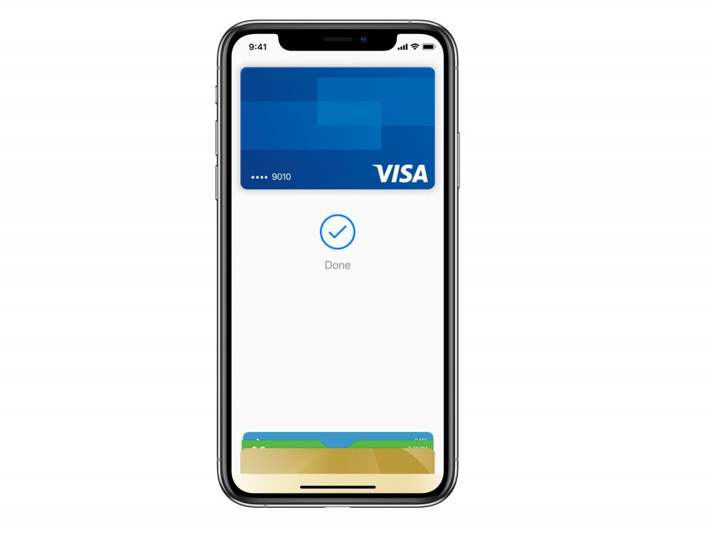 H ανακοίνωση της Visa για το Apple Pay