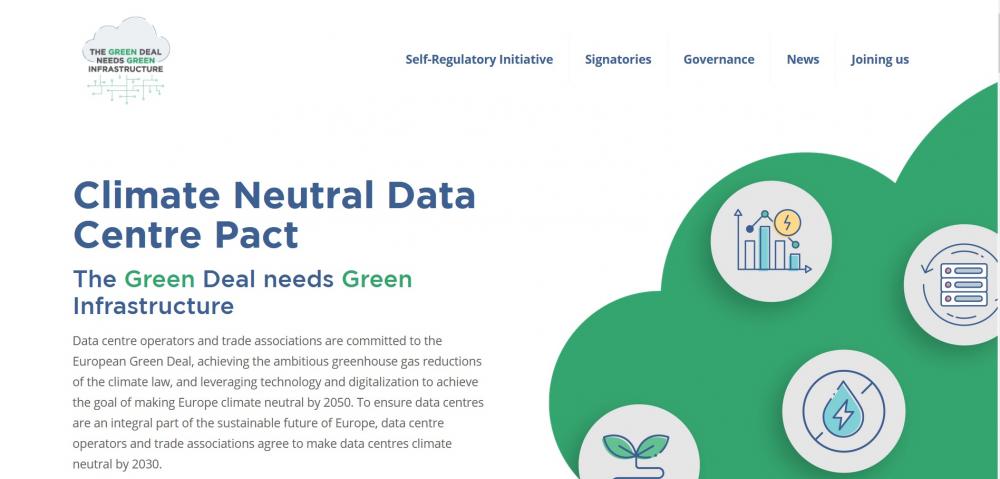 Σύμφωνο για κλιματικά ουδέτερα data center μέχρι το 2030