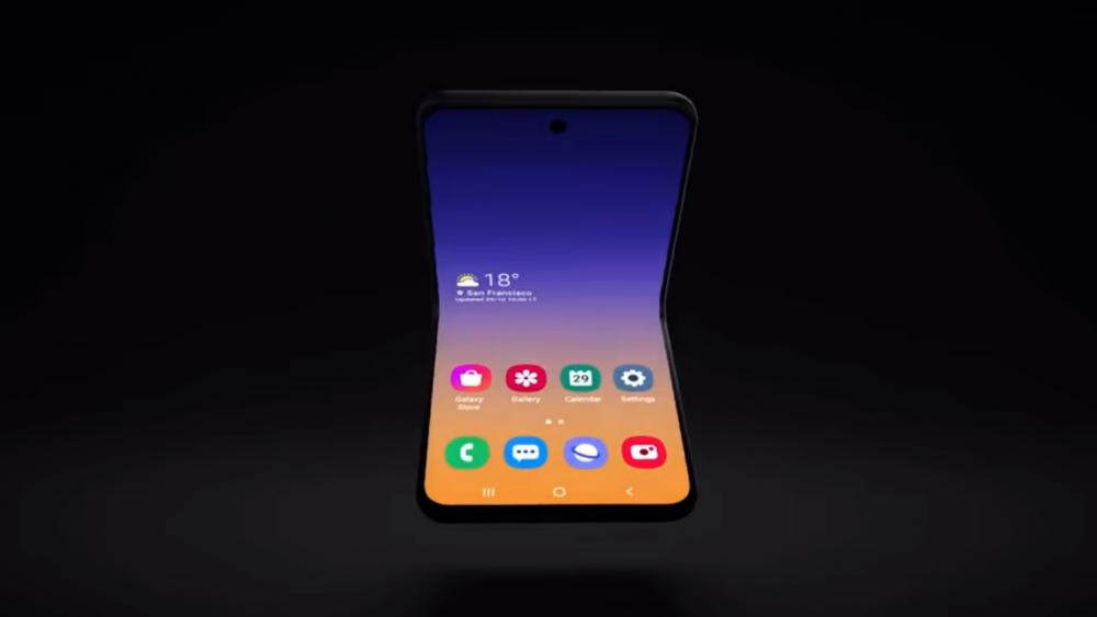 Samsung: επιβεβαιώνει το concept ενός clamshell smartphone
