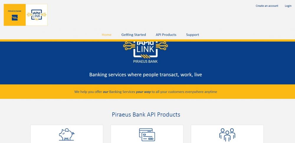 Αρχιτεκτονική Open Banking από την Τράπεζα Πειραιώς
