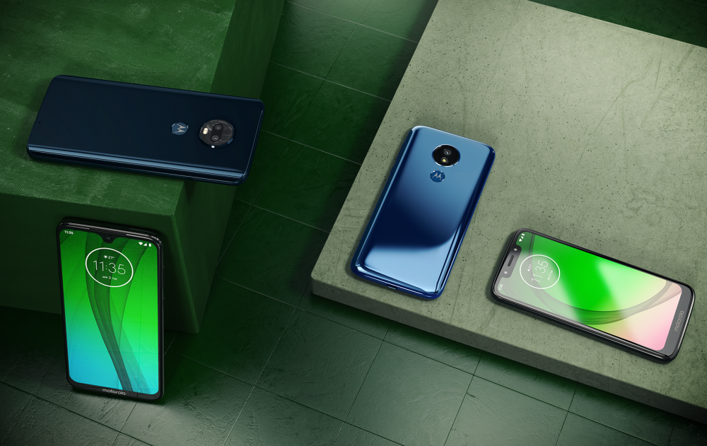 Motorola Moto G7: Ξεκινάει η διάθεση της σειράς και στην Ελλάδα