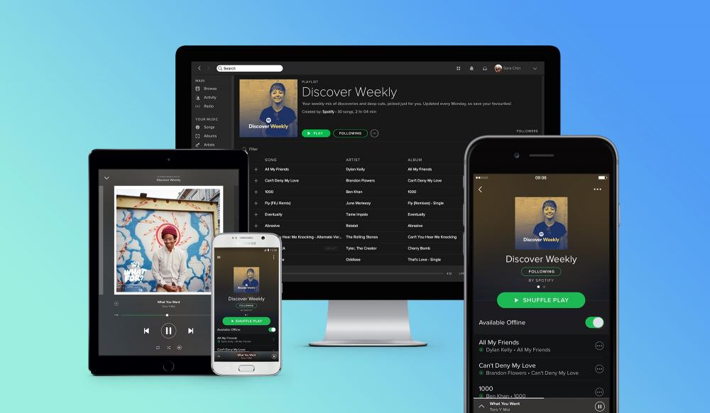 Spotify: δημιουργεί playlists για κατοικίδια