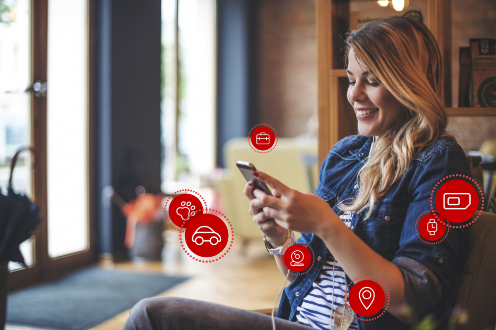 V by Vodafone: Ολοκληρωμένες λύσεις Internet of Things για τον καταναλωτή