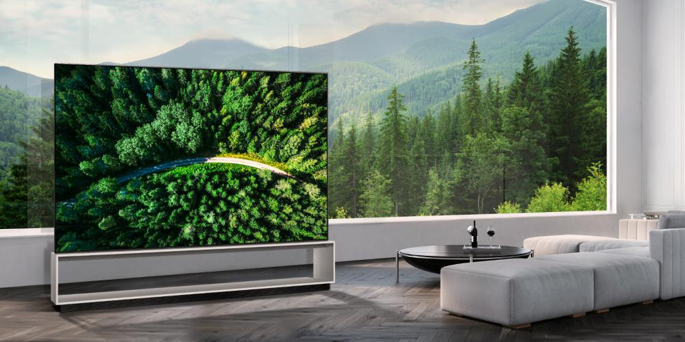 LG: ξεκινάει την πώληση της πρώτης 8K OLED τηλεόρασης