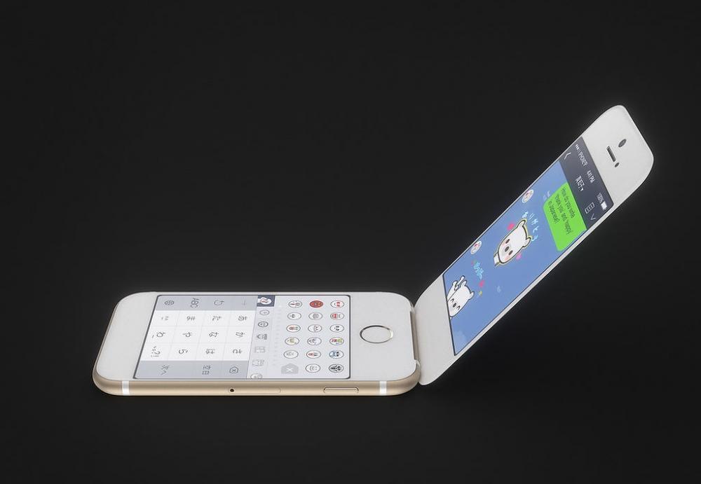 Πατέντα για αναδιπλούμενα κινητά στην Apple