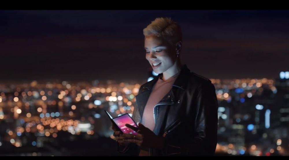 Είναι αυτό το foldable smartphone της Samsung;