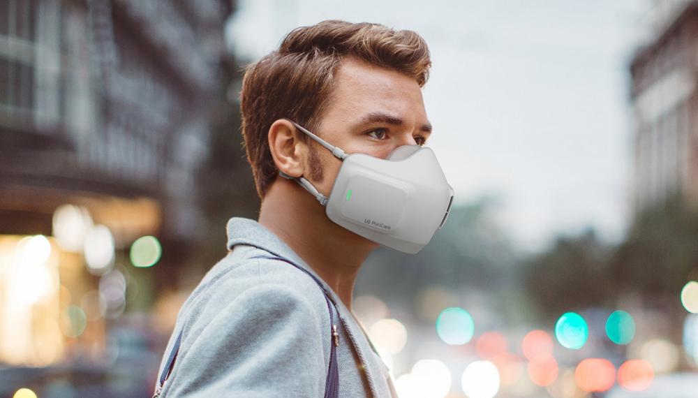 LG: μάσκα Air Purifier PuriCare με οκτώ ώρες συνεχόμενης λειτουργίας