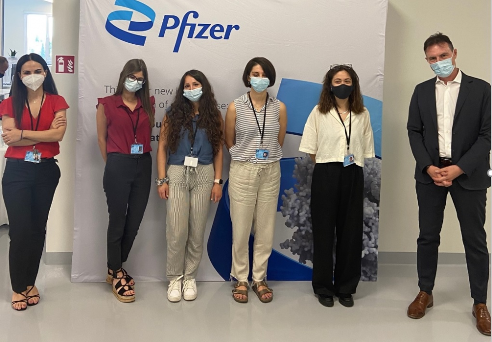 Pfizer: το κέντρο ψηφιακής καινοτομίας στη Θεσσαλονίκη ανακοινώνει την έναρξη του Rotational Graduate Program σε συνεργασία με το Αριστοτέλειο Πανεπιστήμιο