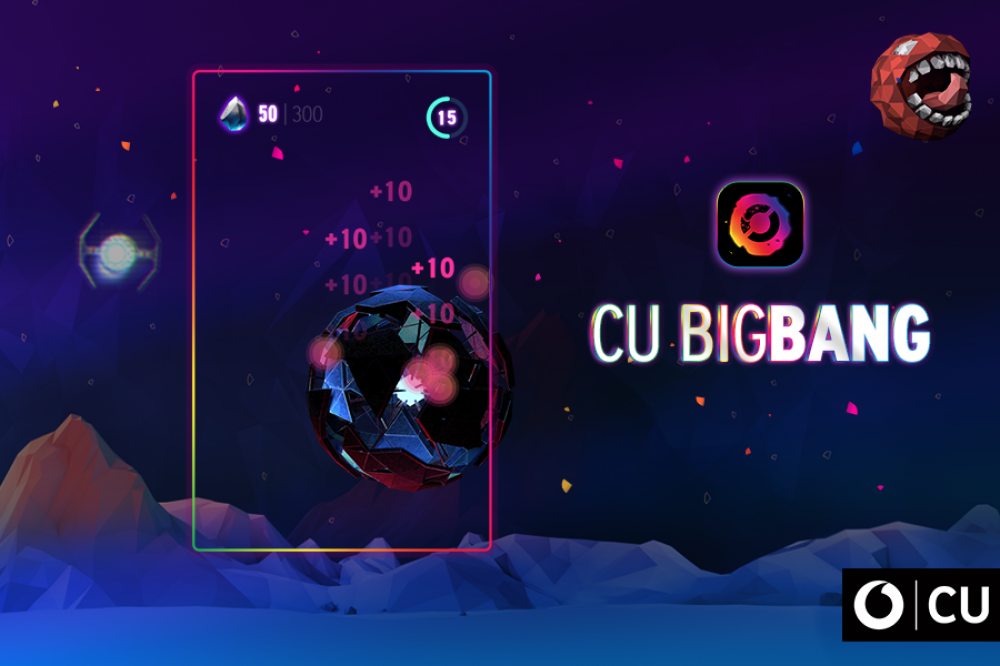 CU Big Bang App: το CU γίνεται παιχνίδι και δίνει δώρα