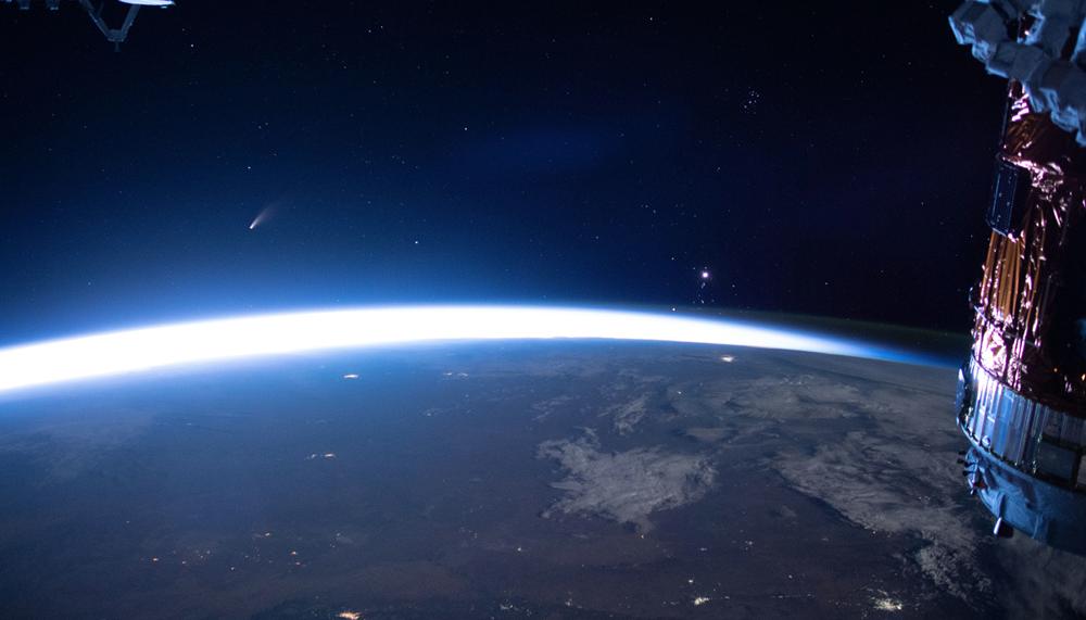 Kομήτης Neowise ένας φωτεινός μουσαφίρης