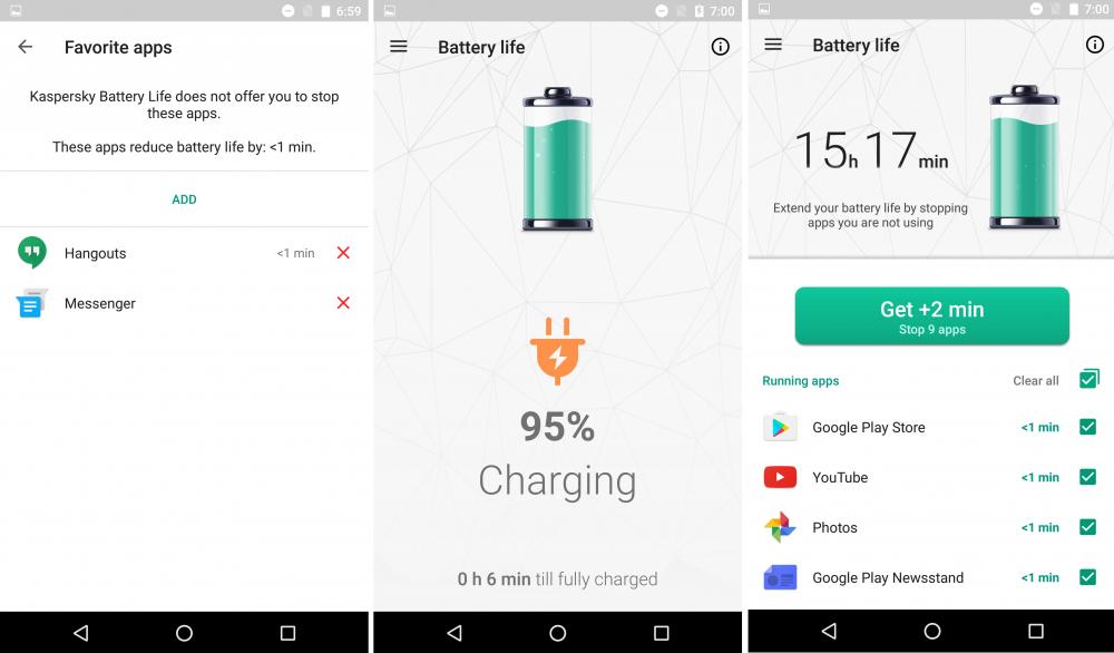 Μεγαλύτερη διάρκεια της μπαταρίας του smartphone με τη δωρεάν εφαρμογή της Kaspersky Lab