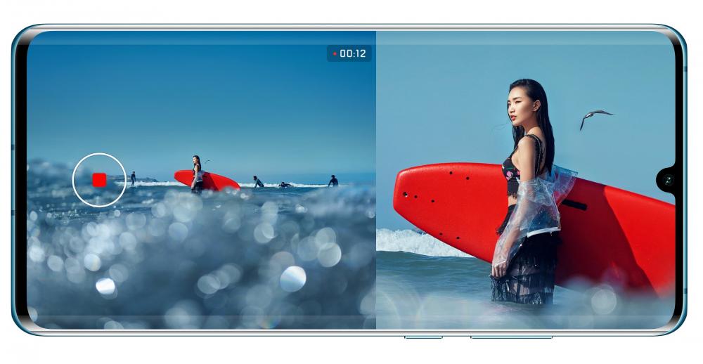 Ήρθε η διπλή λήψη video στα Huawei P30 και Huawei P30 Pro