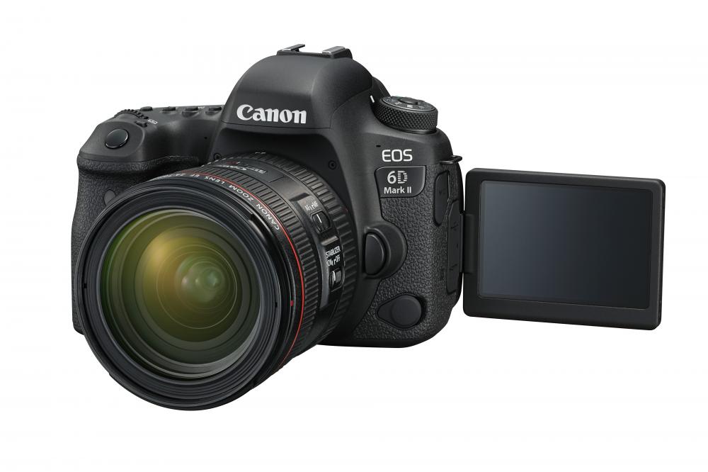 Παρουσιάστηκε η Canon EOS 6D Mark II