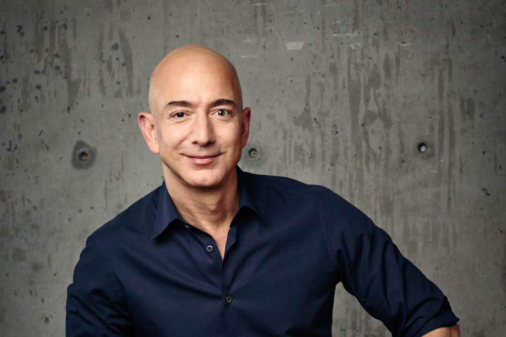 Επιχειρηματίας της δεκαετίας ο Jeff Bezos της Amazon