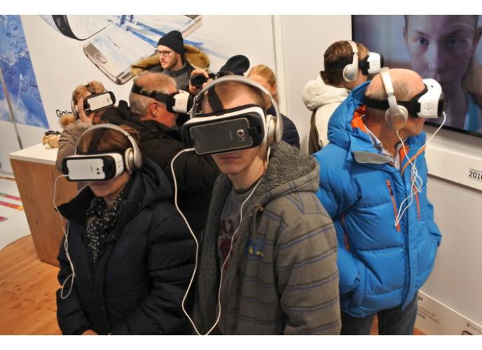 Live streaming εικονικής πραγματικότητας από τη Samsung