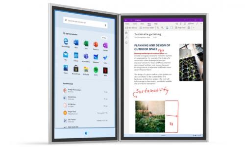 Microsoft Surface Neo: αυτό συμβαίνει όταν ενώνεις δύο tablets