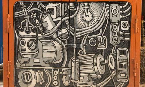 Τα ΚΑΦΑΟ μπορούν να γίνουν έργα τέχνης στο Εμπορικό Τρίγωνο της Αθήνας