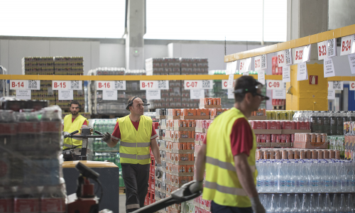 Coca-Cola Τρία Έψιλον: η τεχνολογία Augmented Reality αλλάζει τη διαχείριση αποθήκης και παραγγελίας