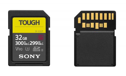 Από τη Sony η πιο γρήγορη και ανθεκτική κάρτα μνήμης SD στον κόσμο