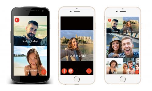 Seem App: chat με selfies