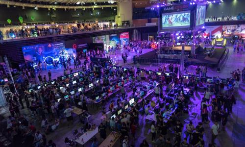 12.000 επισκέπτες στο GameAthlon