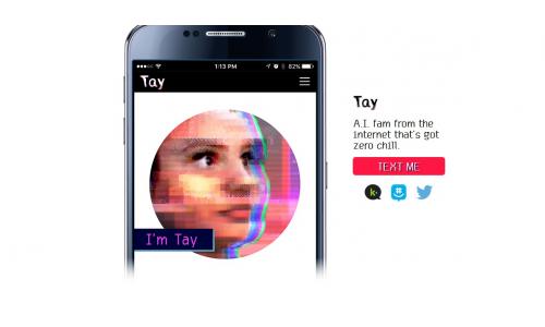Γνωρίστε την Tay, μια φιγούρα τεχνητής νοημοσύνης από τη Microsoft