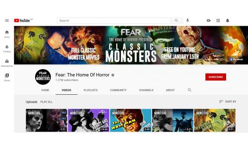 Κλασικές ταινίες τρόμου της Universal δωρεάν στο YouTube