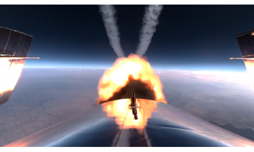 Virgin Galactic: έγραψε ιστορία ο Ρίτσαρντ Μπράνσον με την πτήση του στο Διάστημα