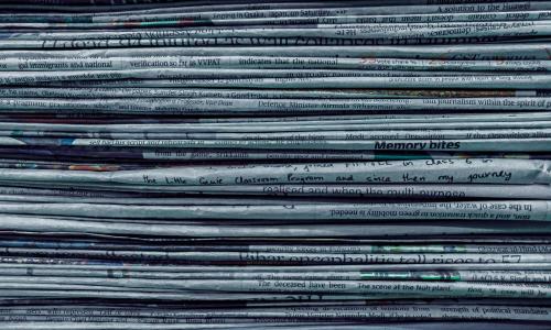 Το μακρύ ηλιοβασίλεμα των εφημερίδων