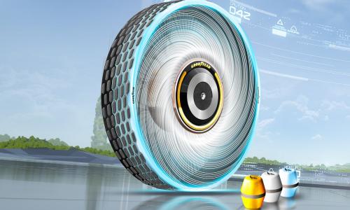 Goodyear reCharge: ένα πρωτότυπο ελαστικό με πολλές καινοτομίες