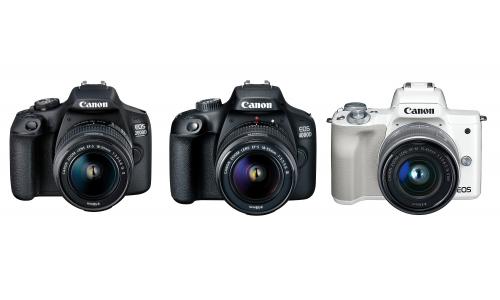 Τρεις νέες φωτογραφικές μηχανές από την Canon