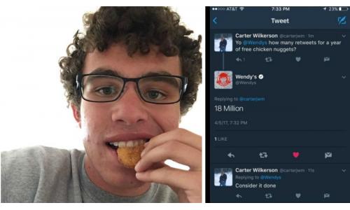 Κοτομπουκιές για ρεκόρ Γκίνες στο Twitter