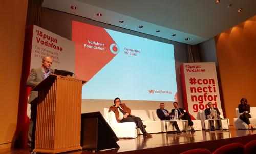 Ίδρυμα Vodafone: ενισχύει τις δραστηριότητές του στην Ελλάδα