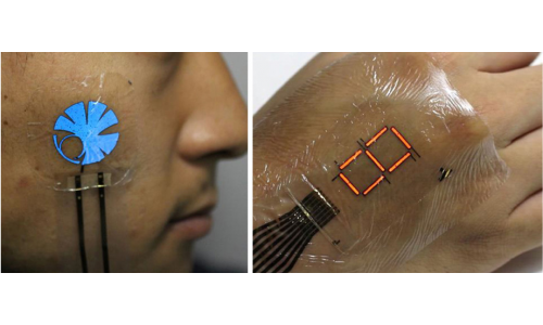 Display από ηλεκτρονικό δέρμα