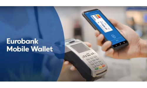 Ανέπαφες πληρωμές από smartphones με κάρτες Eurobank