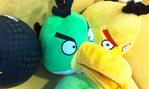 Αποδημητικά «Angry Birds»