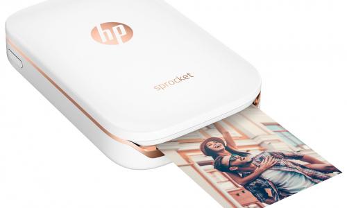 HP Sprocket:  φορητός φωτογραφικός εκτυπωτής τσέπης