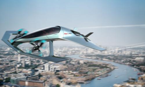 Και η Aston Martin στα ιπτάμενα οχήματα