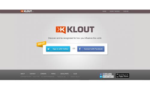 Κλείνει και το Klout