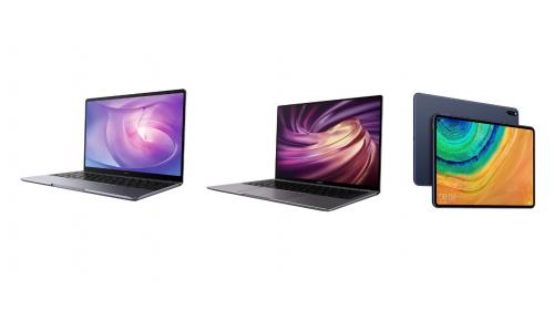 Huawei: διαθέσιμα για προπαραγγελία τα νέα premium προϊόντα MateBook X Prο, MateBook 13 και MatePad Pro