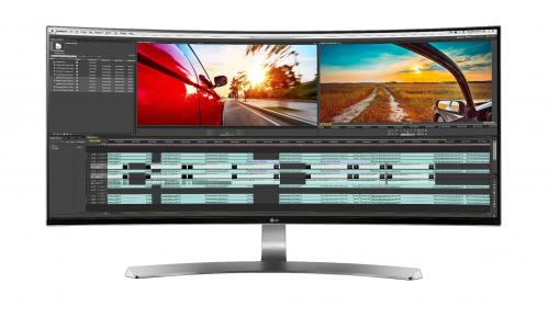 Νέα 21:9 Curved UltraWide οθόνη από την LG
