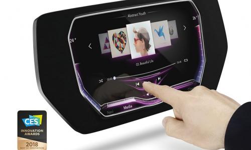 3D οθόνη αφής από την Continental στη CES