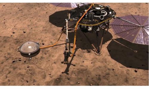 To Insight προσεδαφίστηκε στον Άρη